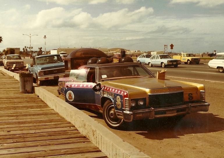 captain sticky car