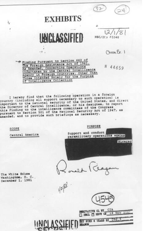Directiva+de+Ronald+Reagan 1981