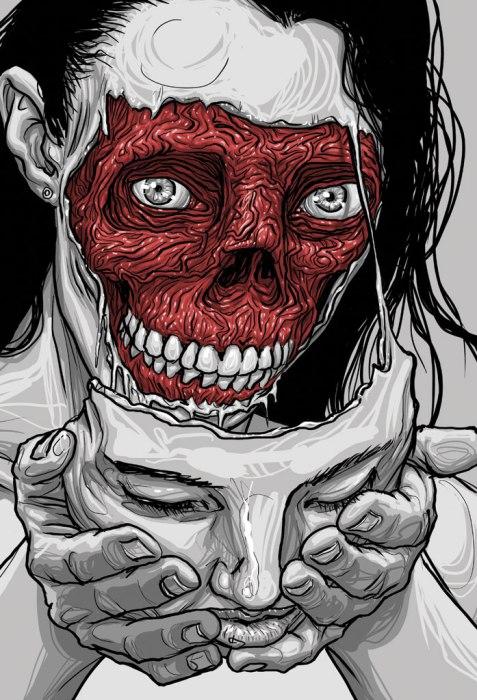 Monster-Human-Mask