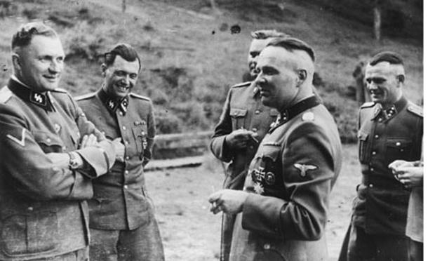 nazis-baer-mengele-kramer- red cross vatican