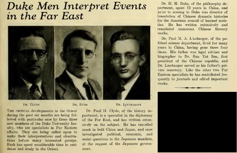 Paul_Linebarger_Duke_Far_East_Experts_1938