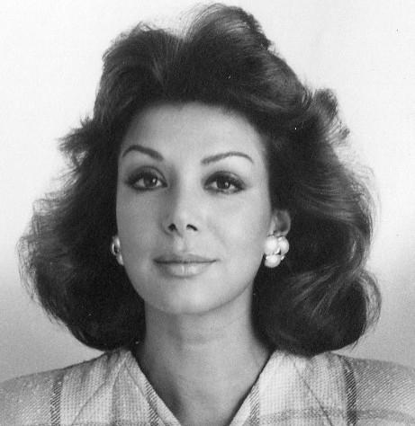 Virginia Vallejo in 1987 by Hernan Diaz