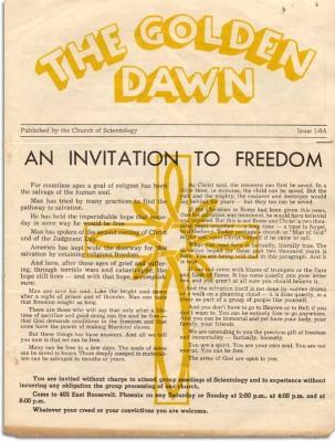 golden dawn issue 1-0a p 1