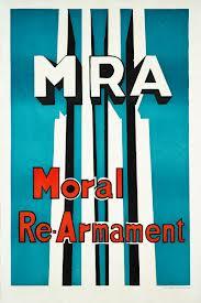 Moral+Re-Armament poster