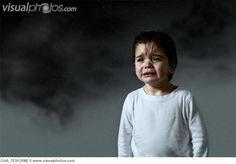 crying child rain
