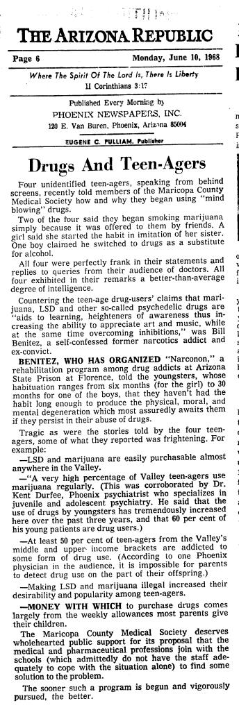 arizona republic benitez june 10 1968