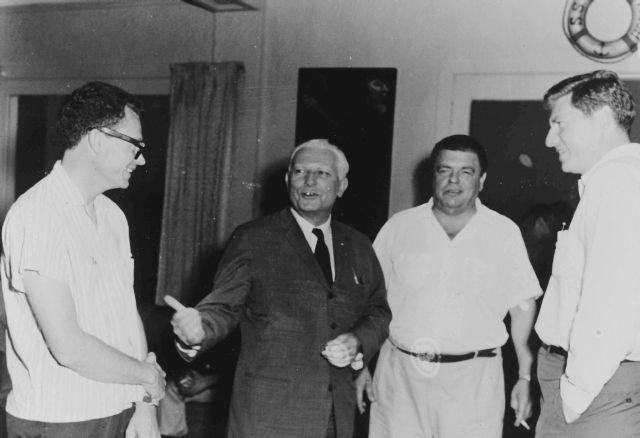 Bill crawford, senator dodd, dederich yablonsky 1962