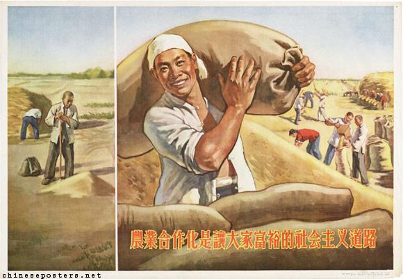china land reform mao famine