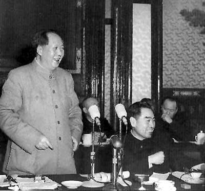 mao zhou 1956