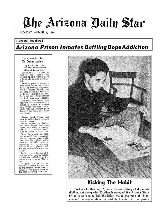 narconon 1966 benitez