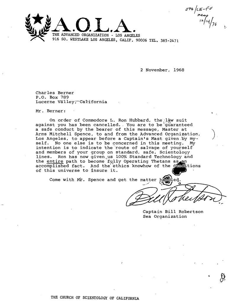 Capt Bill Robertson yvonne gillham charles berner nov 1968 H-89 2