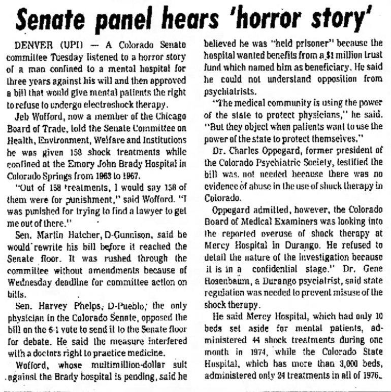 Koehler brady shock as punishment Greeley_Daily_Tribune_Wed__Mar_30__1977_