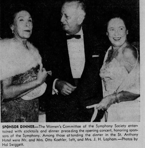 Otto and Marcia Koehler San_Antonio_Express_Sun__Oct_19__1958_