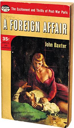 john baxter pseudonym of e. howard hunt