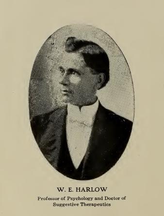 W.E._Harlow_suggestive_therapeutics