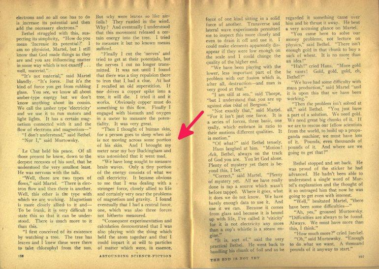 ASTOUNDING endisnotyet the precursor emeter idea oct 1947