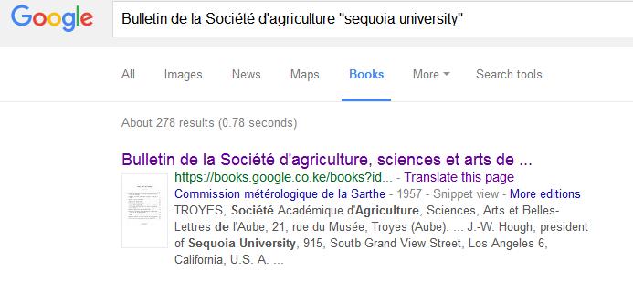 google_books_search_sequoia_bulletin_de_la_societe_dagriculture_1957_Volume_66