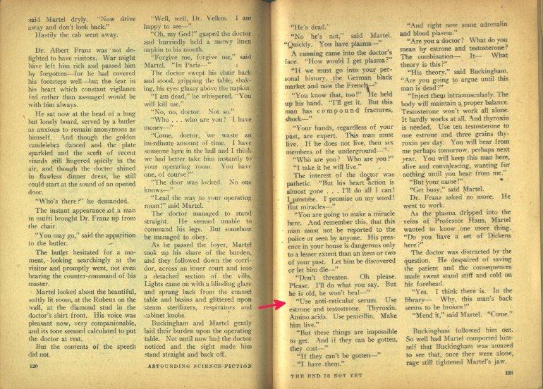 hubbard endisnotyet endocrine medicine sept 1947