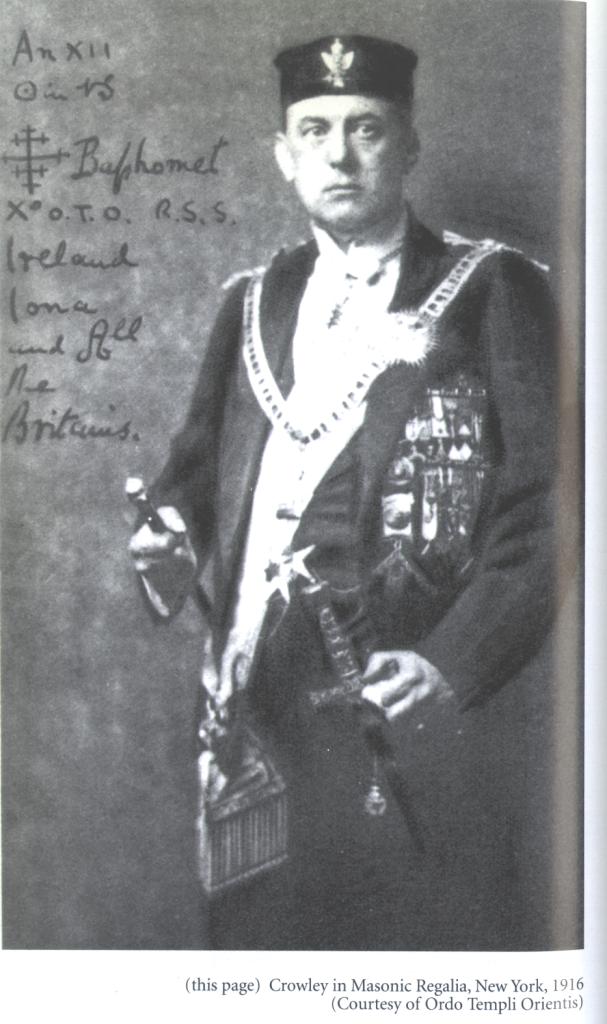 crowley 1916 new york in masonic regalia