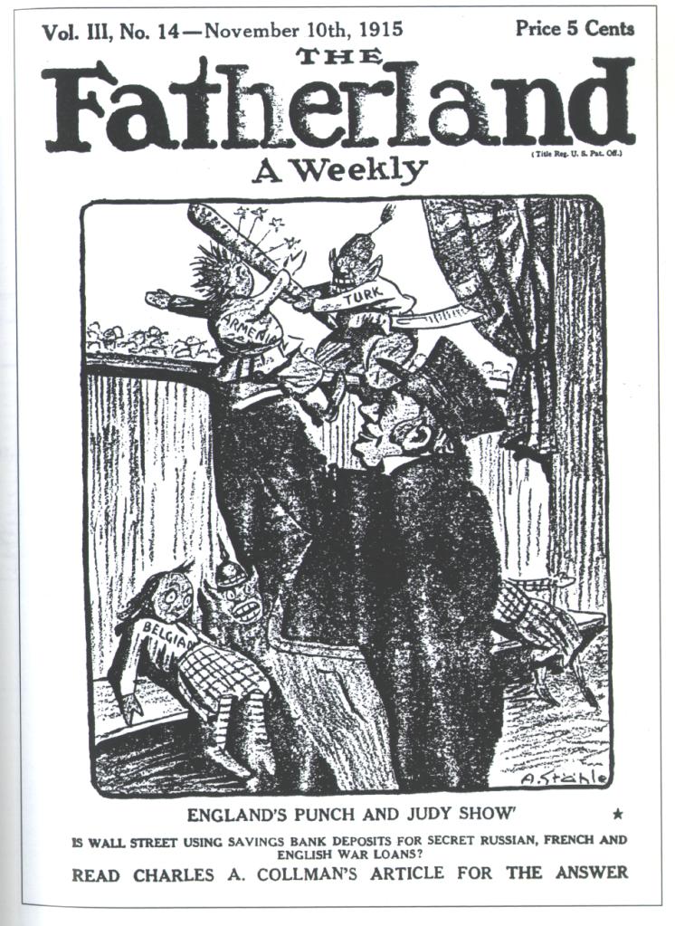 Fatherland german propaganda Crowley