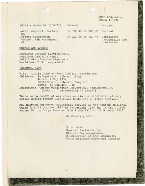 Michael Flynn - Hubbard records 18 June 1980 3