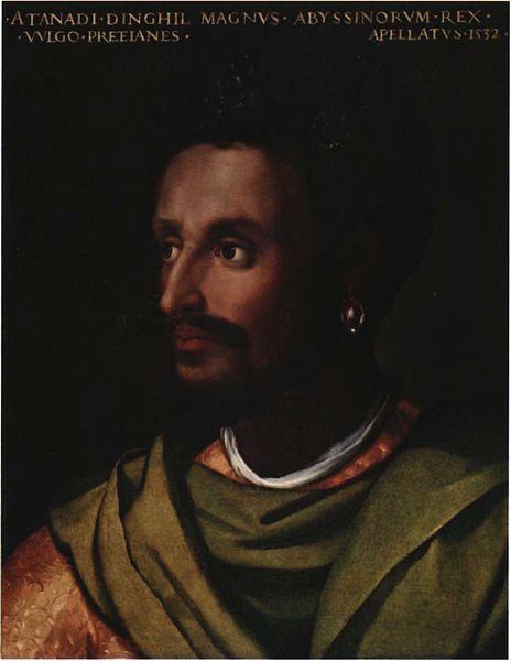 Cristofano_dell'Altissimo,_Portrait_of_Lebnä-Dengel._c._1552-1568 Dawit II