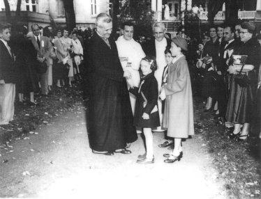 Cardinal leger in 1953