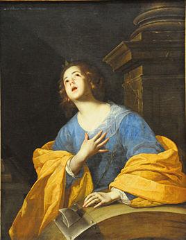 S.-Caterina-Cavallino religious ecstacy