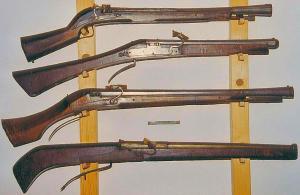harquebus-guns