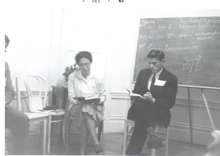Gordon Ross on right